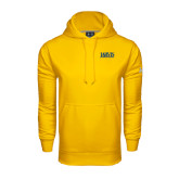 Under Armour Gold Performance Sweats Team Hoodie-Jarvis Christian College - Institutional Mark
