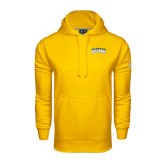 Under Armour Gold Performance Sweats Team Hoodie-Arched Jarvis Christian College Bulldogs