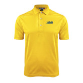 Gold Dry Mesh Polo-Jarvis Christian College - Institutional Mark
