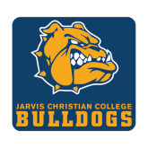 Medium Magnet-Jarvis Chrsitian College Bulldogs w/ Major Stacked, 8 inches wide