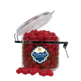 Sweet & Sour Cherry Surprise Round Canister-Jarvis Chrsitian College Bulldogs w/ Major Stacked