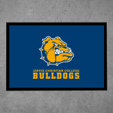 Full Color Indoor Floor Mat-Jarvis Chrsitian College Bulldogs w/ Major Stacked