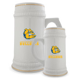 Full Color Decorative Ceramic Mug 22oz-Jarvis Chrsitian College Bulldogs w/ Major Stacked