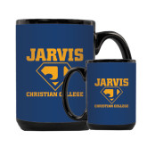 Full Color Black Mug 15oz-Super J