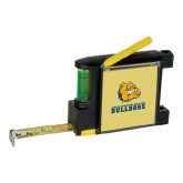 Measure Pad Leveler 6 Ft. Tape Measure-Jarvis Chrsitian College Bulldogs w/ Major Stacked