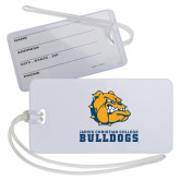 Luggage Tag-Jarvis Chrsitian College Bulldogs w/ Major Stacked