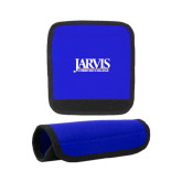 Neoprene Royal Luggage Gripper-Jarvis Christian College - Institutional Mark