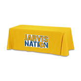 Gold 6 foot Table Throw-Jarvis Nation
