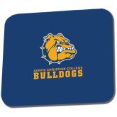 Full Color Mousepad-Jarvis Chrsitian College Bulldogs w/ Major Stacked