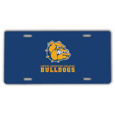 License Plate-Jarvis Chrsitian College Bulldogs w/ Major Stacked