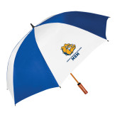 62 Inch Royal/White Umbrella-Mom