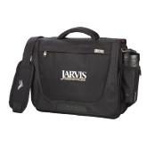 High Sierra Black Upload Business Compu Case-Jarvis Christian College - Institutional Mark