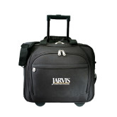 Embassy Plus Rolling Black Compu Brief-Jarvis Christian College - Institutional Mark