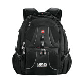 Wenger Swiss Army Mega Black Compu Backpack-Jarvis Christian College - Institutional Mark