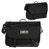 Metro Black Compu Brief-Jarvis Christian College - Institutional Mark