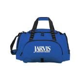 Challenger Team Royal Sport Bag-Jarvis Christian College - Institutional Mark