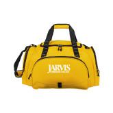 Challenger Team Gold Sport Bag-Jarvis Christian College - Institutional Mark