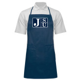 Full Length Navy Apron-Official Logo