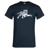 Navy T Shirt-Tiger