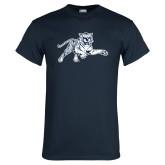 Navy T Shirt-Tiger