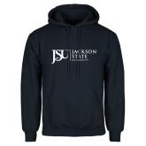Navy Fleece Hood-JSU Jackson State University