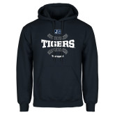 Navy Fleece Hoodie-Tigers Softball w/ Seams