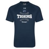 Under Armour Navy Tech Tee-Tigers Softball w/ Seams