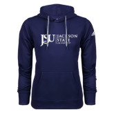 Adidas Climawarm Navy Team Issue Hoodie-JSU Jackson State University
