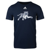 Adidas Navy Logo T Shirt-Tiger