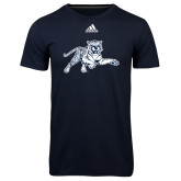 Adidas Climalite Navy Ultimate Performance Tee-Tiger