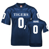 Replica Navy Adult Football Jersey-Personalized
