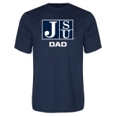 Syntrel Performance Navy Tee-Dad
