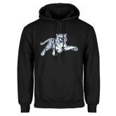 Black Fleece Hood-Tiger