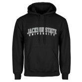 Black Fleece Hoodie-Arched Jackson State University