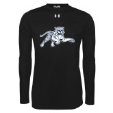 Under Armour Black Long Sleeve Tech Tee-Tiger