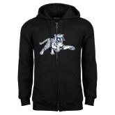 Black Fleece Full Zip Hood-Tiger