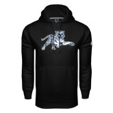 Under Armour Black Performance Sweats Team Hood-Tiger
