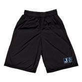 Performance Black 9 Inch Short w/Pockets-Official Logo