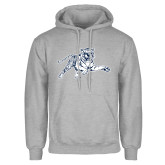 Grey Fleece Hoodie-Tiger