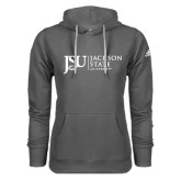 Adidas Climawarm Charcoal Team Issue Hoodie-JSU Jackson State University