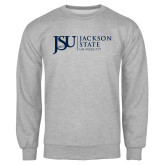 Grey Fleece Crew-JSU Jackson State University