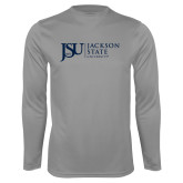 Performance Steel Longsleeve Shirt-JSU Jackson State University