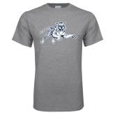 Grey T Shirt-Tiger