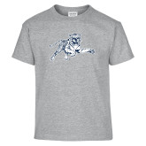 Youth Grey T-Shirt-Tiger