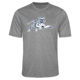 Performance Grey Heather Contender Tee-Tiger