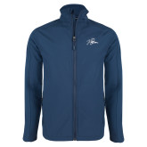 Navy Softshell Jacket-Tiger
