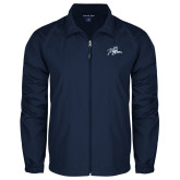 Full Zip Navy Wind Jacket-Tiger