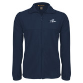 Fleece Full Zip Navy Jacket-Tiger