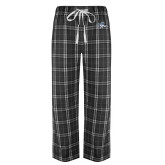 Black/Grey Flannel Pajama Pant-Tiger