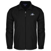 Full Zip Black Wind Jacket-Tiger
